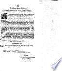 Radius micet divinus Vivis   Defunctis pie Confoederatis