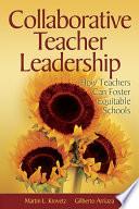 Collaborative Teacher Leadership