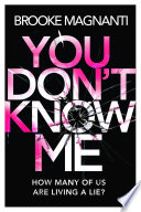 You Don T Know Me book