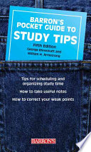 Barron s Pocket Guide to Study Tips