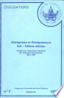 illustration Entreprises et Entrepreneurs XIX-XXème siècles