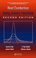 Heat Conduction Using Green S Functions 2nd Edition