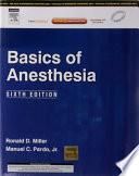 Basics Of Anesthesia 6 E book