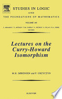 Lectures on the Curry Howard Isomorphism