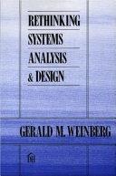 Rethinking Systems Analysis   Design
