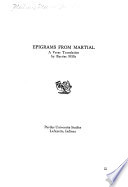Epigrams from Martial
