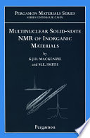 Multinuclear Solid State Nuclear Magnetic Resonance Of Inorganic Materials book