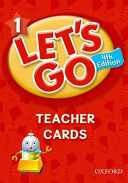 Let s Go 1 Teacher Cards