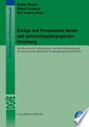 Erträge und Perspektiven berufs- und wirtschaftspädagogischer Forschung