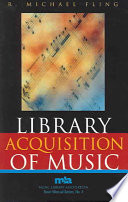Library Acquisition of Music