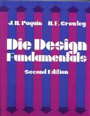 Die Design Fundamentals