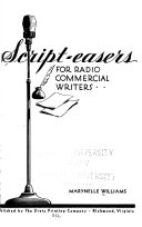 Script easers for Radio Commercial Writers