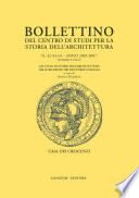 Bollettino del Centro di Studi per la Storia dell Architettura n  42 43 44 2005   2007 Numero unico