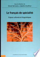 Le français de spécialité