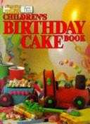 Children s Birthday Cake Book