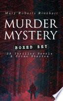 MURDER MYSTERY Boxed Set  25 Thriller Novels   Crime Stories