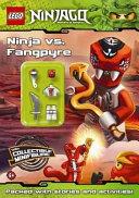 LEGO Ninjago  Ninja Vs Fangpyre Activity Book