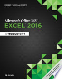 Shelly Cashman Series Microsoft Office 365   Excel 2016  Introductory