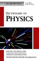 McGraw Hill Dictionary of Physics