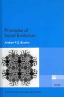 Principles of Social Evolution