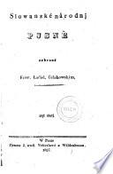 Slovanske Narodni Pisne