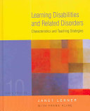 Learning Disabilities and Related Disorders