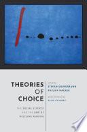 Theories Of Choice