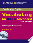 Cambridge Vocabulary for IELTS Advanced Band 6 5  with Answers and Audio CD