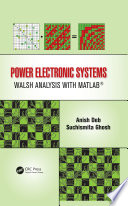 Power Electronic Systems Power Electronic Systems Walsh Analysis With