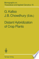 Distant Hybridization of Crop Plants