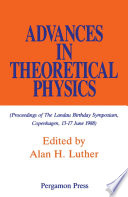 Advances in Theoretical Physics