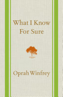 download ebook what i know for sure pdf epub