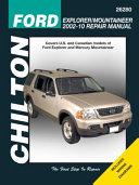 Ford Explorer Mountaineer 2002 10 Repair Manual