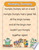 Learning Center Activities for  Humpty Dumpty