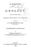 download ebook an introduction to geology, and its associate sciences: mineralogy, fossil botany, and palÆontology pdf epub