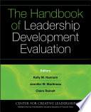 The Handbook of Leadership Development Evaluation