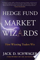 Hedge Fund Market Wizards Book Cover