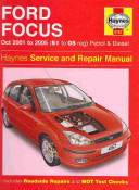 Ford Focus Petrol And Diesel Service And Repair Manual