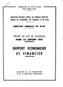 Projet de Loi de finances pour la gestion ...