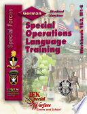 U.S. Army Special Forces Language Visual Instructor And Student Training Materials - GERMAN