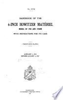 Handbook of the 6-inch Howitzer Matériel