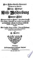Herrn Johann Baptisten Taverniers, Freyherrns von Aubonne, Vierzig-Jähriger Reise-Beschreibung