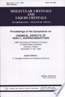 Proceedings Of The Symposium On Chemical Aspects Of High Tc Superconductors book
