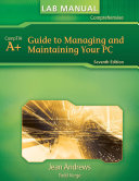 Lab Manual For Andrews A Guide To Managing Maintaining Your Pc