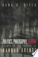 Politics  Philosophy  Terror
