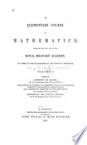 Arithmetic  algebra  differential and integral calculus  by W  Rutherford  Application of algebra to geometry  plane trigonometry  spherical trigonometry  mensuration  coordinate geometry of two dimensions  by Stephen Fenwick