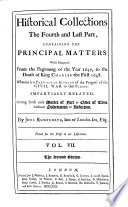 Containing the Principal Matters Which Happen d From the Beginning of the Year 1645  to the Death of King Charles the First  1648  Wherein is a Particular Account of the Progress of the Civil War to that Period Book PDF