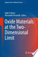 Oxide Materials at the Two Dimensional Limit
