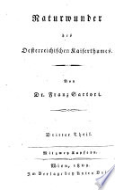 Naturwunder des Oesterreichischen Kaiserthumes