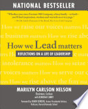 Ebook How We Lead Matters: Reflections on a Life of Leadership Epub Marilyn Carlson Nelson Apps Read Mobile